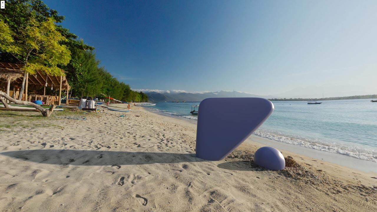 plaża VR
